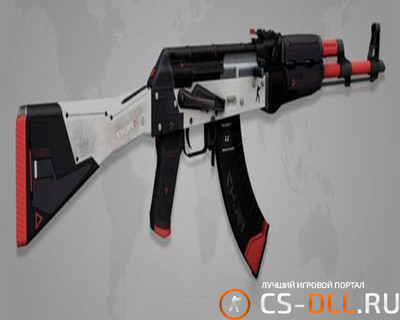 HD модель «AK 47 Cyrex» для CS 1.6