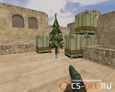 Плагин Chrismas C4 для CS 1.6